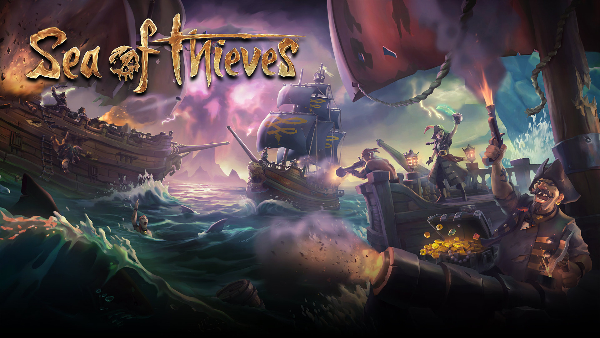 Sea of Thieves, Xbox One, Unreal Engine
