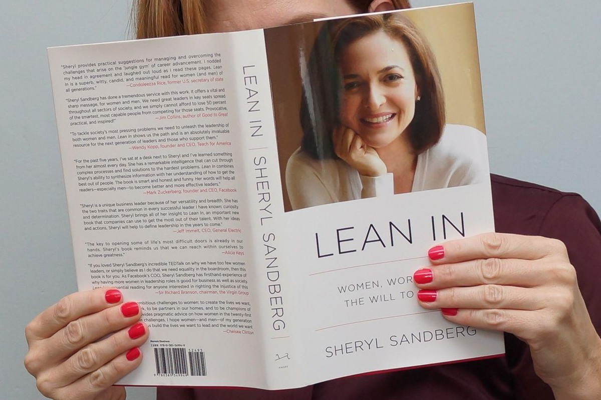 Lean in, Sheryl Sandberg, facebook, google