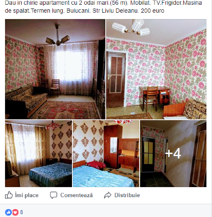 aparatement chirie chisinau