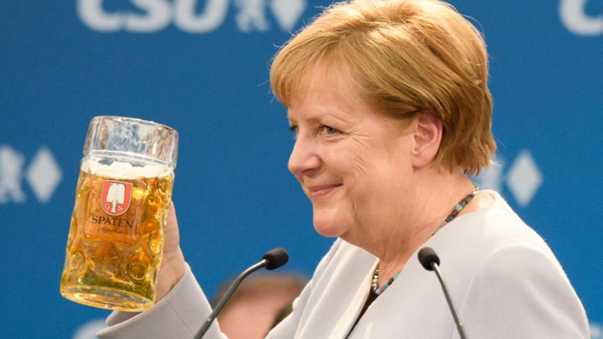 ue politica, angela merkel, cancelar germania, 2018 berlin