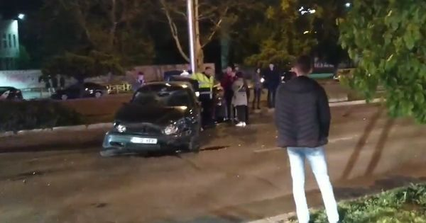 accidente rutiere chisinau, accident botanica, strada teilor