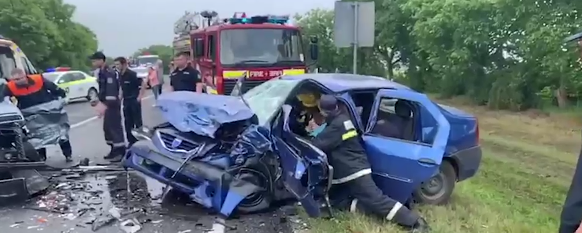 accident rutier, accident gagauzia