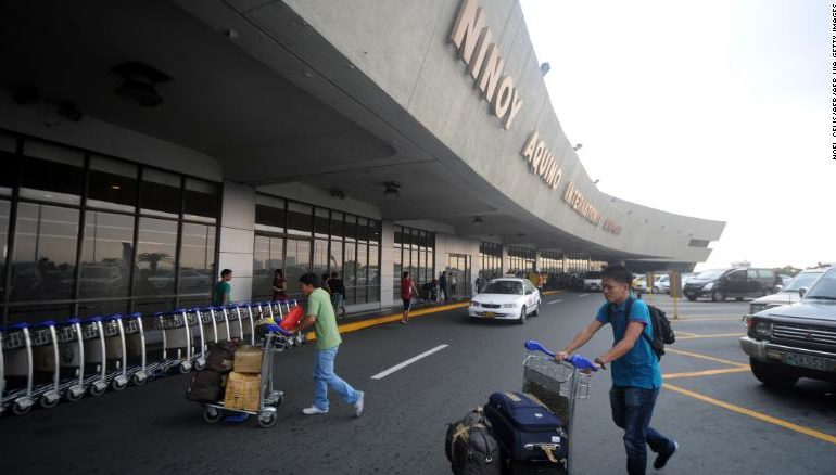 Ninoy Aquino International Airport, Manila.