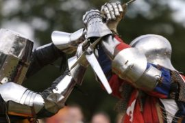 medieval, fight, to the, death, duel