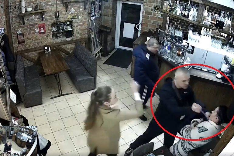 Incident într-un bar din Ucraina, Poltava