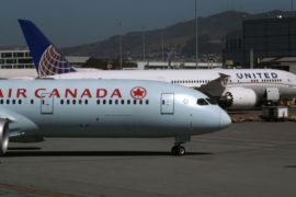 Canada Air, avion cu probleme, trenul defect